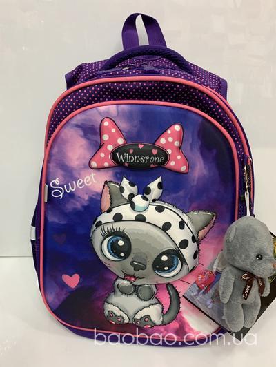 Winnerone R1-002 рюкзак для девочки «котёнок»