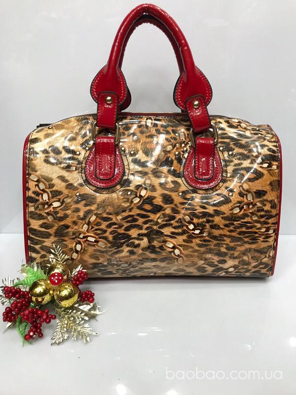 Изображение товара: Леопардовый саквояж