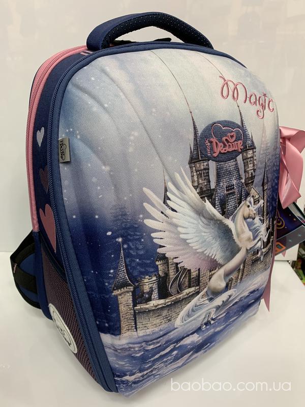 Изображение товара: Delune 7-150 школьный рюкзак для девочки 2020 год