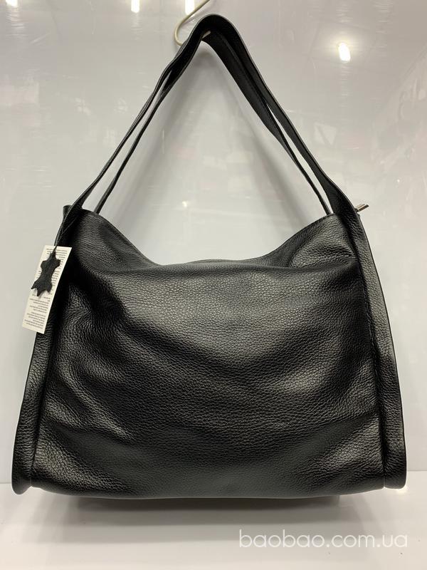 Изображение товара: 1061/1 - сумка из кожи, чёрного цвета