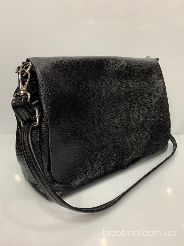 """Изображение товара: #817/1 - кожаная сумка - """"почтальонка"""", формат  А4"""
