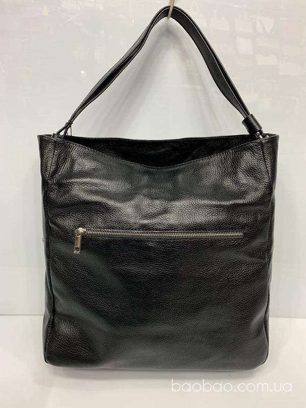 Изображение товара: #1058 - сумка- мешок, hobo, из натуральной кожи
