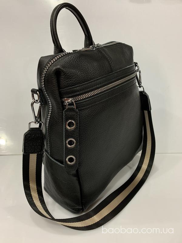 Изображение товара: А4 Кожаный рюкзак из мягкой кожи
