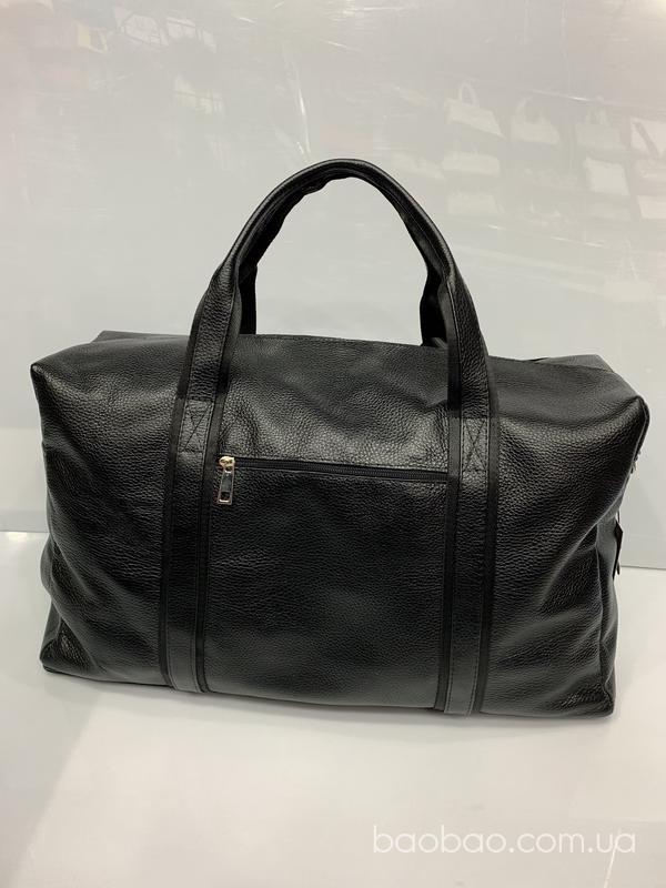 Изображение товара: #103 - дорожно-спортивная сумка-саквояж из натуральной кожи