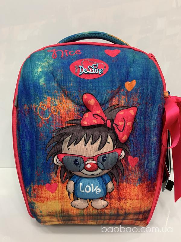 Изображение товара: Delune 7mini 016  стильный рюкзак для девочки