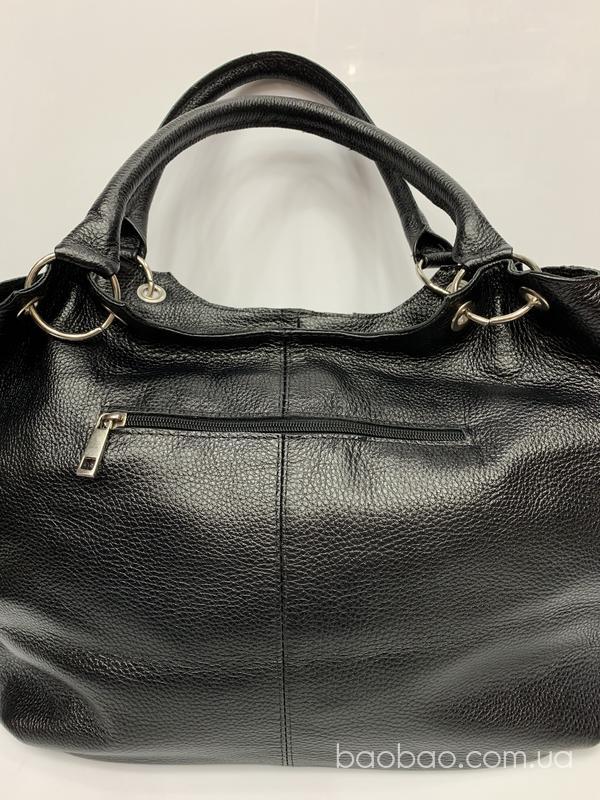 Изображение товара: #1115 - мягкая сумка- саквояж из натуральной кожи