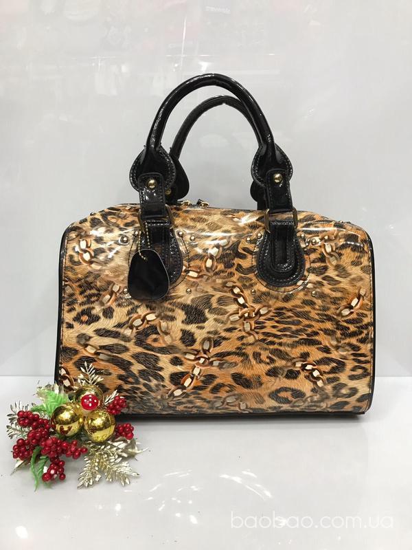 Изображение товара: Саквояж леопардовый