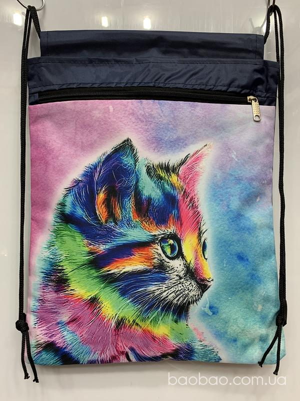 Изображение товара: Рюкзак для сменки «кот»