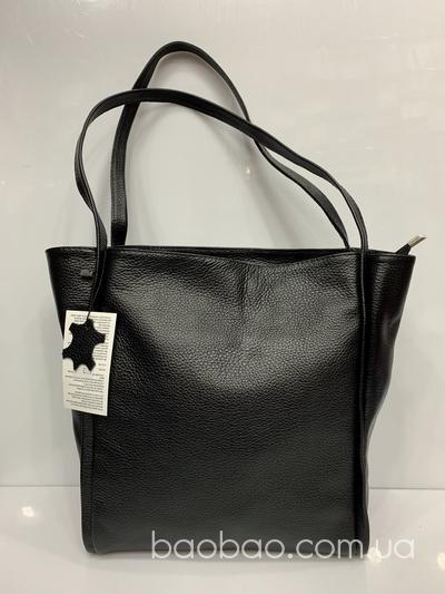 #1113 - сумка тоут из натуральной кожи