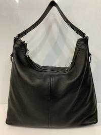 Купить сумку Сумка Solana кожаный мешок чёрного цвета