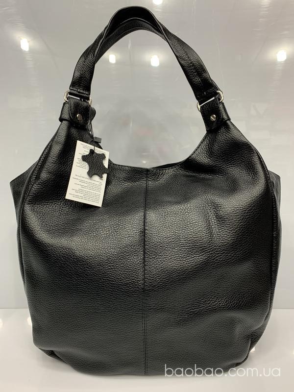 1055 -сумка- мешок hobo из натуральной кожи