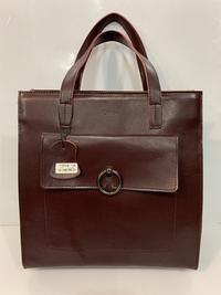 Купить сумку Solana Бардовая кожаная  сумка под A4
