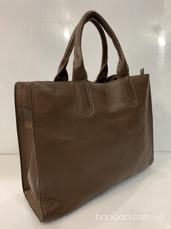 Изображение товара: Sara кожаная сумка А4 на 3 отдела
