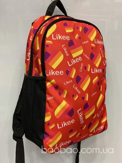 Рюкзак like red