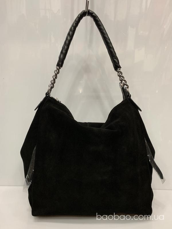 Изображение товара: Polina & eiterou #8839 -Замшевая сумка-мешок