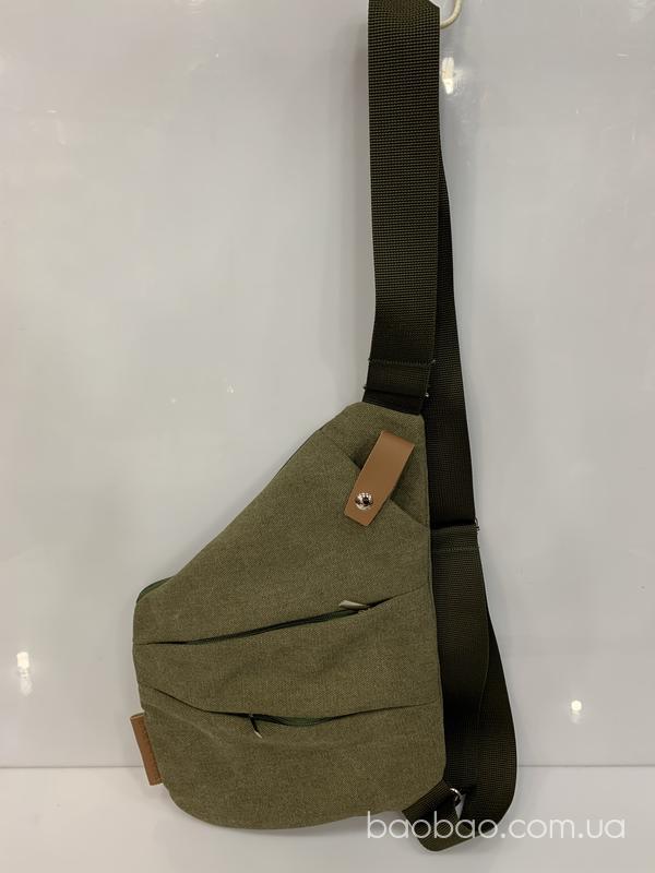 Изображение товара: Сумка кобура брезент зеленыы