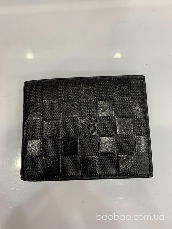 Изображение товара: Шкіряний портмоне в клітинку