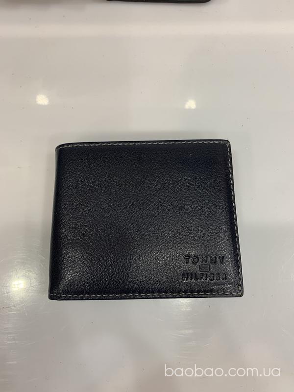 Изображение товара: Шкіряний гаманець темно синього кольору