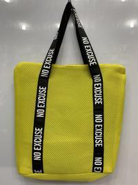 Купить сумку Сетка-сумка тоут желтая для спорта и отдыха