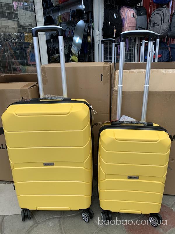 Изображение товара: Комплект полипропиленовых чемоданов м+S